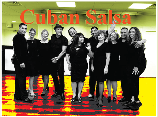 Cuban Salsa with Jaime Ruiz - Monday 7 pm Beginners 2
